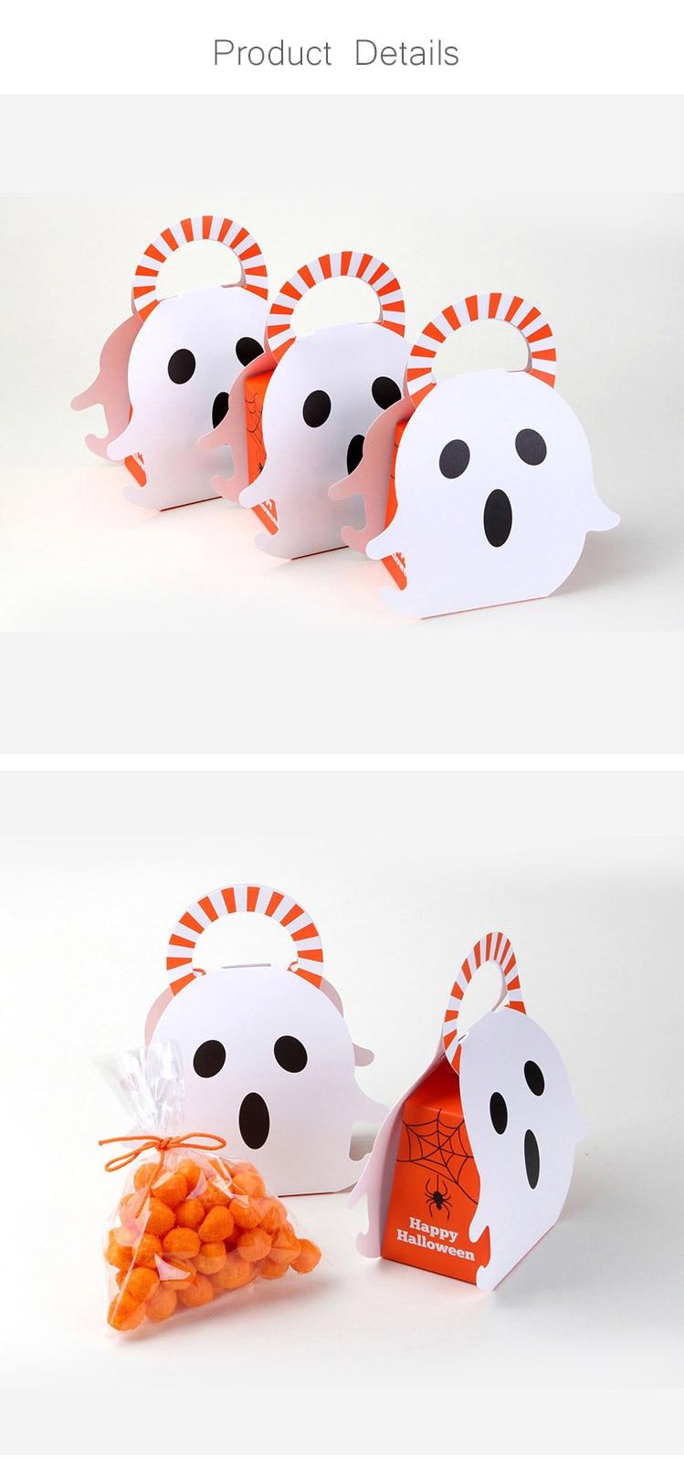 acheter portable noël halloween cadeau boîte pliante boîte À bonbons