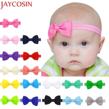 2016 Multicolor Bowknot Mini Headbands girl hair accessories Girl headband cute hair band newborn floral headband LS25(China)