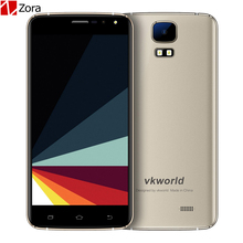 New VKworld S3 Mobile Phone 5.5 inch MTK6580A Quad Core Android 7.0 1GB RAM 8GB ROM 8MP Dual SIM Cards 2800mAh 3G SmartPhone