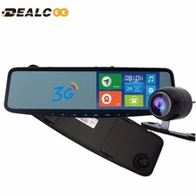 Dealcoo JC600 5 inch Car GPS Navigator Android DVR mirror Bluetooth 1G DDR sat nav Europe RU US Israel Google Maps Free Car DVR(China)