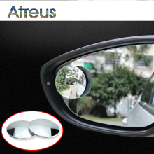 2pcs car styling High Definition Adjustable Rearview Mirror Stickers For Ford BMW lada Toyota universal Audi Nissan Mazda VW KIA(China)