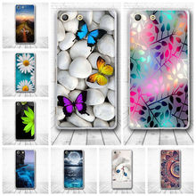 Buy Coque Sony Xperia M5 E5603 E5606 E5653 Case 3D Skim Cute Capa Silicone TPU Back Cover Fundas Sony M5 5.0'' Phone Cases for $1.05 in AliExpress store