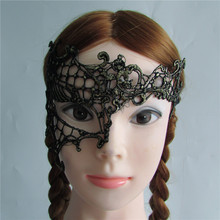 hot sell golden Sexy Lady Lace Mask Eye Mask for Masquerade Party Fancy Dress Costume Hallowmas mask M183