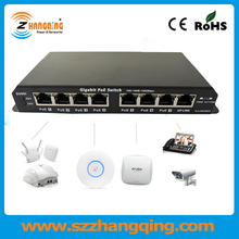 Professional PoE Switch Manufacture 7 Port PoE Network Switch For VOIP Phone IP Camera Including 24V 120W Power Supply