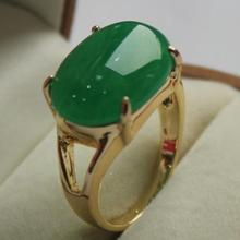 beautiful  jewelry lady's favorite GP green jades  ring (7,8,9#)