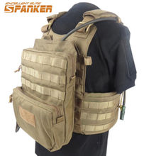 3L Spanker Tactical Molle Portable Vest Hydration Pack Bike Bicycle Camel Water Bag Military Assault Backpack 1000D Nylon(China)