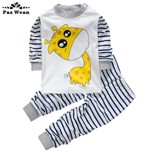 Clothes For Babies Dresses Newborn Baby Boy Clothes Cotton Jacket spring boys Children's tracksuit trousers sweatshirt 1 2 Year