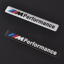 Aluminum M Power Performance Car Sticker Decal Emblem Badge For BMW M 1 3 4 5 6 7 E Z X M3 M5 M6 Mline Car Styling Accessories(China)