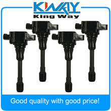 SET OF 4 Ignition Coil Fit For Nissan Altima Sentra Cube Rogue UF-549 22448-ED000
