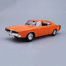 Maisto 1/18 Dodge Challenger RT Diecast Alloy Car Models Fast and Furious 8 Children Toys Gifts Collections Brinquedos(China)