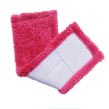 Practical Cleaning Household Dust Reusable Microfiber Pad Spray Mop Brooms Tool(China)
