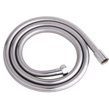 "PVC 1.5m/60"" High Pressure PVC Smooth Shower Hose For Bath Handheld Shower Head, Chrome 11-019(China)"