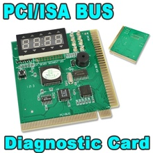 High Quality PCI & ISA Motherboard Tester Diagnostics Display 4-Digit PC Computer Mother Board Debug Post Card Analyzer