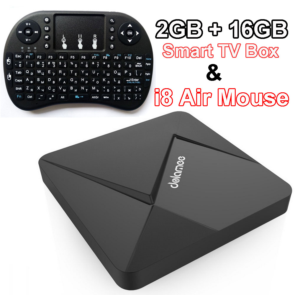 Android Smart TV Box Rockchip RK3299 Quad Core 2G 16G 4K Streaming Media Player Wifi Dolamee D5 Smart Mini PC Hebrew Remote Game<br><br>Aliexpress