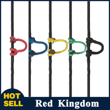 5 Color Compound Bow D Ring Rope 18m Release String Nocking Buckle Rope Bow Release U Rope Release Aid Archery Accessories(China)