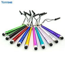 Baseball Capacity Stylus Touch Pen for iphone 4 5 6 7 ipad etc Mobile Phone Touch Pen for Samsung HTC for Kindle 50pcs/lot(China)