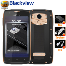 "Blackview BV7000 Pro Mobile Phone IP68 Waterproof MT6750T Octa Core 5.0"" FHD 4GB 64GB Fingerprint Glonass Dust proof Smartphone(China)"