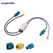 Superbat DAB Fakra to SMA Connector Aerial Antenna Splitter Car Stereos DAB Installed(China)