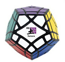 2015 Brand New MF8 BermudaMinx Crazy Megaminx Plus Saturn Black 96 mm Educational Toy Special Toys