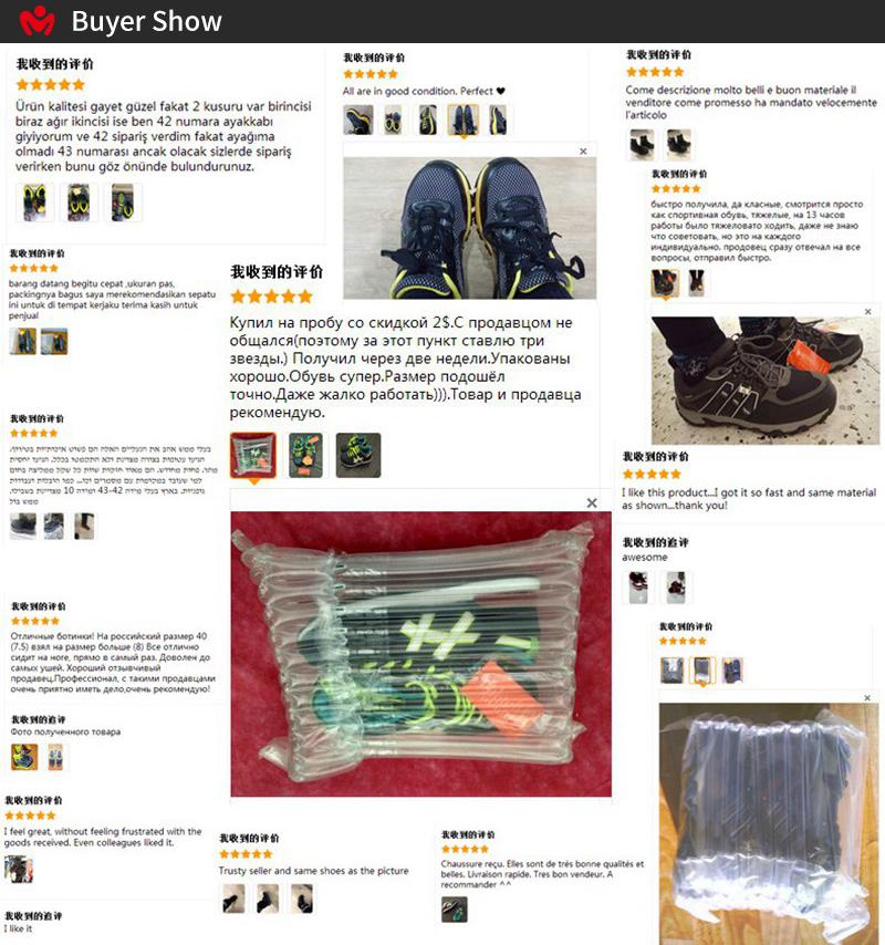 MODYF Men Safety Steel Toe Work Shoes Lightweight Breathable Casual Footwear 2