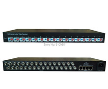 "CJ-616R 16 Channel Active UTP Video Receiver High-Density 19"", 1U Rack Mount , Active Video Balun for CCTV,BNC to UTP RJ45"