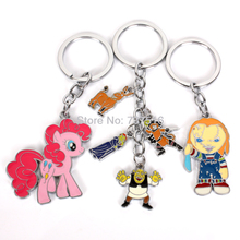 New Pink Balloons Horse & Bride of Chucky Boy Scar Edition & The Shrek Boots Cat Donkey Animation Metal Products Set of 3Pcs(China)