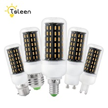 TSLEEN Lampe e27 led bulb Cheap corn light 96 138 led e14 gu10 g9 b22 30w 35w 4014 smd cover lamp bulb 220v powerful leds