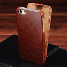 Flip PU Leather Case for iPhone 5s 5 S SE Retro Back Cover Coque with Fashion Logo Phone Bag Cases For iPhone 5 5SE Luxury(China)