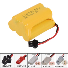 6v 700mah AA NI-CD T Battery Electric toys car ship robot rechargeable free shipping(China)