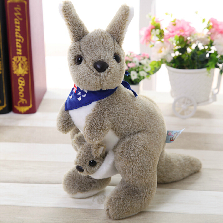 Kangaroo plush toy for boy and girls, baby toys Animals Plush Toys For Childrens Gift Kids Toys<br><br>Aliexpress