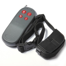 New Hot Sale 4-in-1 Adjustable Strong Function Remote Control Small Medium Dog Training Shock Vibrate Collar Leads