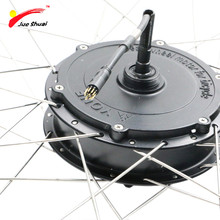 JS 36V 700C Rear Motor Wheel E Bike Conversion Kit 250/350/500W Motor Waterproof Wire 12 Magnets PAS Electric Bicycle Component