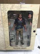 "NECA Uncharted 4 A thief's end NATHAN DRAKE Ultimate Edition PVC Action Figure Collectible Model Toy 7"" 18cm KT3423"