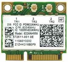 Ultrimate-N 6300 633ANHMW Half Size Mini PCI E WiFi Card 450Mbps 802.11a/g/n Wireless Card for Intel 6300AGN Lenovo Thinkpad/HP(China)