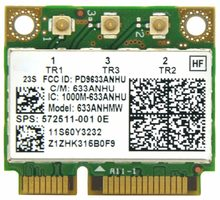 Ultrimate-N 450 633 ANHMW Половинный размер мини PCI E WiFi карта 6300 Мбит/с 802.11a/g/n беспроводная карта для Intel 6300AGN lenovo Thinkpad/hp(China)