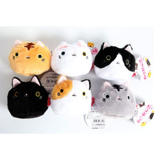 6pcs Neko Atsume Cat Bolt Misty Cream San Sunny Speckles Collection Anime Plush Doll Set Toy Gift 5120509(China)
