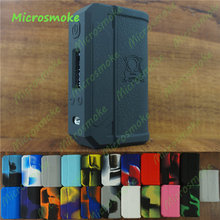 RHS wholesale for Lost Vape Skar Therion DNA75 Silicone Case skin Evolv 200 133 166 Cover thicker sticker free shipping by DHL