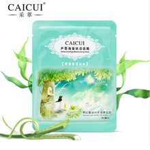 caicui 1pcs aloe algae plant collagen crystal mask anti-aging moisturizing whitening facial mask beauty face care product(China)