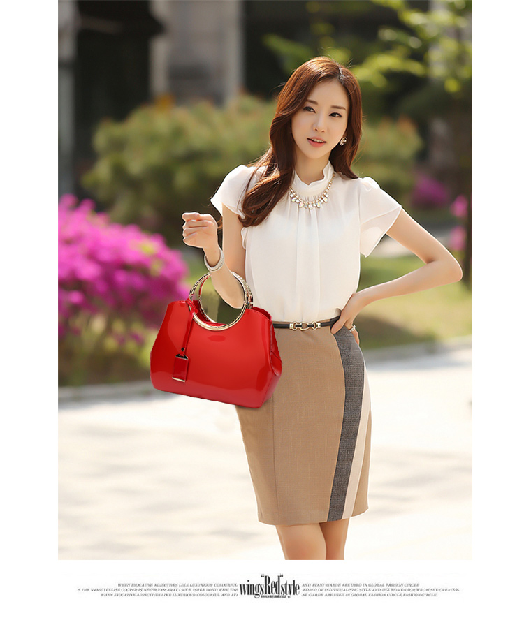 New High Quality Patent Leather Women bag Ladies Cross Body messenger Shoulder Bags Handbags Women Famous Brands bolsa feminina (13)