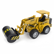 HELIWAY RC Truck Wheel Excavator Motorized Pressure Road Vehicle Simulation Pace Cars Grasping Wooden Car Forklift Engineer Toys(China)