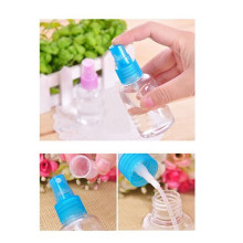 5Pc/set 50ML Clear Plastic Refillable Bottles Hot Sale Transparant Perfume Travel Makeup Tools Atomizer Spray Bottle(China)