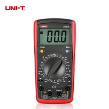 UNI-T UT39C General Handheld Digital Multimeters Universal Meter LCD Count 1999 Manual Range Testers(China)