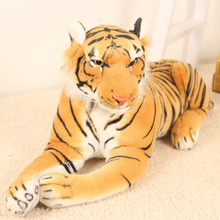 20pcs/lot 26cm Plush toy cloth doll artificial tiger south china tiger plush toy tiger Ultra-realistic simulation Tiger 2 colors