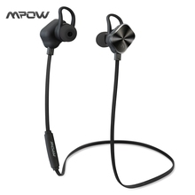 Mpow Magnetic headphone Wireless Bluetooth 4.1 Metel Headset sports eaphone with Mic Microphone for iPhone Android Xiaomi phones