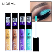 New Makeup Long Lasting Waterproof Pigments Metallic Eyeshadow Glitter Make Up White Color Eye Shadow Liquid Shimmer Stickers