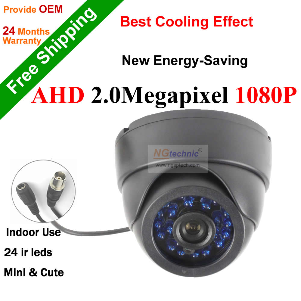 AHD-H 1080P CCTV Camera high definition 24IR Leds Dome indoor surveillance AHD Camera 2.0MP Security system night vision<br><br>Aliexpress
