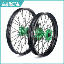 "21"" 18"" for KAWASAKI Wheel Set  Hub Rim KX 125 KX-125 KX-250 KX250F KX 250F KX450F 2006 2007 2008 2009 2010 2011 2012 2013 2014"