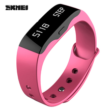 SKMEI Brand Fitness Tracker Women Sport Smartwatch Relogio Feminino Digital Hiking Running Watches Sleep Monitor Relogio Saat(China)