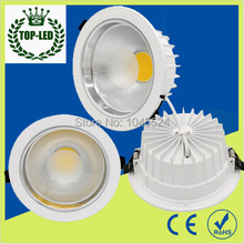 5W 10W 15W 20W 30W 40W LED COB Downlight Dimmable Warm/Cold White Recessed Spot LED Ceiling Lamp For Home illumination Decorate(China)