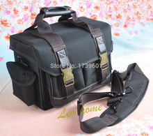 new black camera bag case for Canon EOS 650D 60D 600D Nikon D3200 D90 D7100 D5100 D7000 D5200